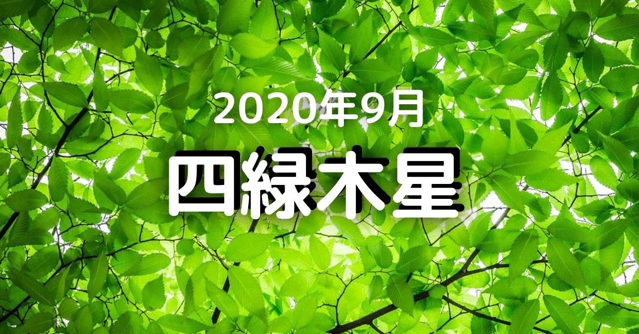 2020 四緑 木星